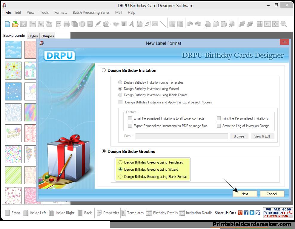 card maker online