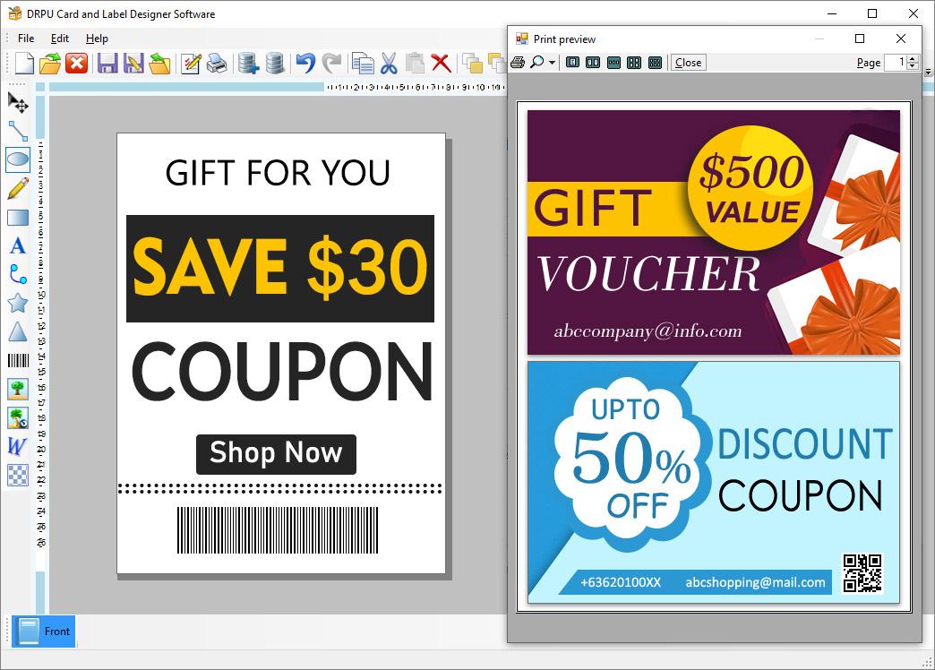 Brochure Design Software screenshot - Windows 8 Downloads